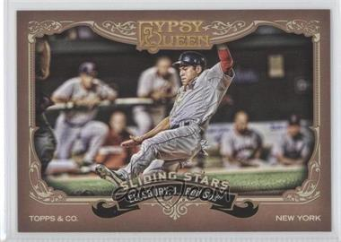2012 Topps Gypsy Queen Sliding Stars #SS-JE - Jacoby Ellsbury