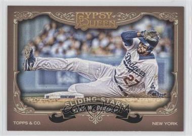 2012 Topps Gypsy Queen Sliding Stars #SS-MK - Matt Kemp