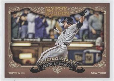 2012 Topps Gypsy Queen Sliding Stars #SS-RB - Ryan Braun