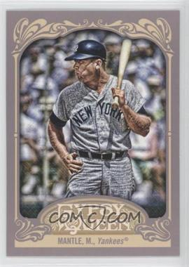 2012 Topps Gypsy Queen #120 - Mickey Mantle