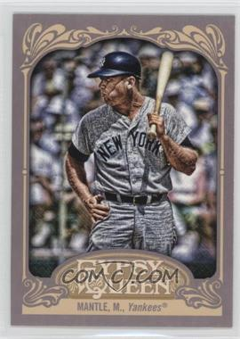2012 Topps Gypsy Queen #120.2 - Mickey Mantle (Batting)