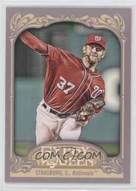 2012 Topps Gypsy Queen #184.2 - Stephen Strasburg (Red Jersey)