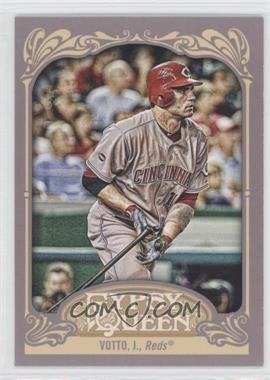 2012 Topps Gypsy Queen #220.2 - Joey Votto (Letting Go of Bat)