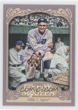 2012 Topps Gypsy Queen #229.2 - Ty Cobb (Posing in Dugout)