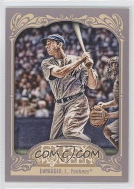 2012 Topps Gypsy Queen #232.2 - Joe DiMaggio (Catcher's Glove Visible)