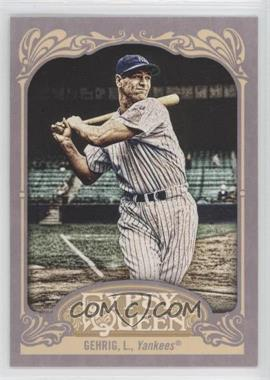 2012 Topps Gypsy Queen #236 - Lou Gehrig