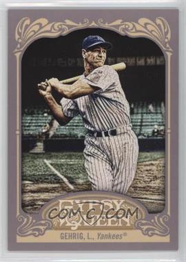 2012 Topps Gypsy Queen #236.2 - Lou Gehrig (Pinstripe Uniform)
