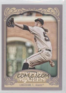 2012 Topps Gypsy Queen #240.2 - Tim Lincecum (Wall in Background)