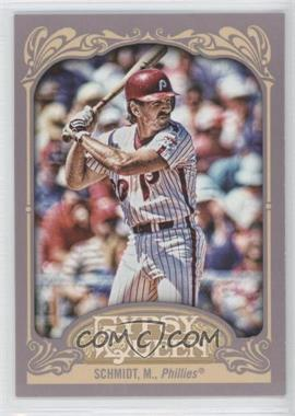 2012 Topps Gypsy Queen #258.2 - Mike Schmidt (Batting, Pinstripe Uniform)
