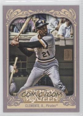 2012 Topps Gypsy Queen #270.2 - Roberto Clemente (Batting)