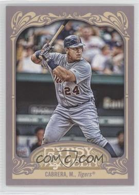 2012 Topps Gypsy Queen #50.2 - Miguel Cabrera (Batting)
