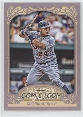 2012 Topps Gypsy Queen #50.2 - Miguel Cabrera (Batting)