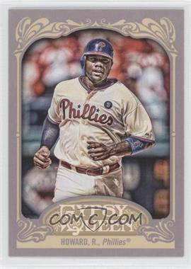 2012 Topps Gypsy Queen #83 - Ryan Howard