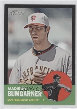 2012 Topps Heritage - [Base] - Black #HP66 - Madison Bumgarner
