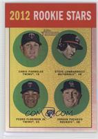 Chris Parmelee, Stephen Lombardozzi, Pedro Florimon, Jordan Pacheco /563