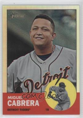 2012 Topps Heritage - [Base] - Chrome Refractor #HP5 - Miguel Cabrera /563