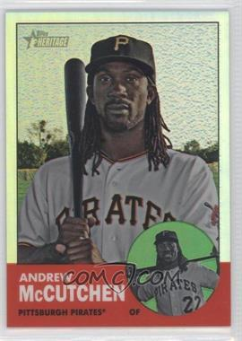 2012 Topps Heritage - [Base] - Chrome Refractor #HP79 - Andrew McCutchen /563