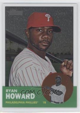 2012 Topps Heritage - [Base] - Chrome #HP21 - Ryan Howard /1963