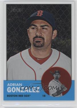 2012 Topps Heritage - [Base] - Chrome #HP3 - Adrian Gonzalez /1963