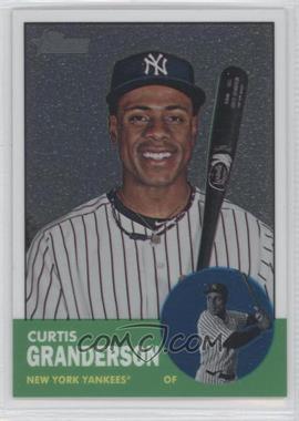 2012 Topps Heritage - [Base] - Chrome #HP7 - Curtis Granderson /1963