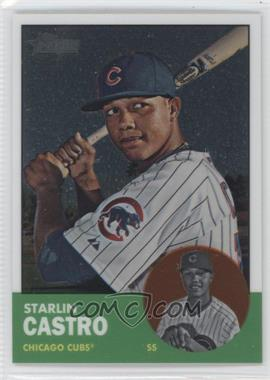 2012 Topps Heritage - [Base] - Chrome #HP80 - Starlin Castro /1963
