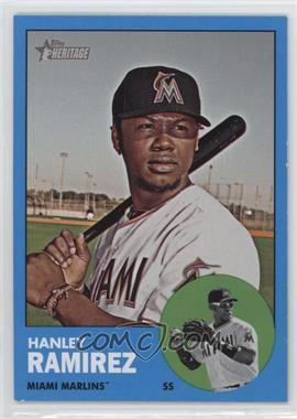 2012 Topps Heritage - [Base] #122.2 - Hanley Ramirez (Wal-Mart Blue)