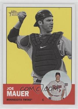 2012 Topps Heritage - [Base] #186.2 - Joe Mauer (Image Swap)