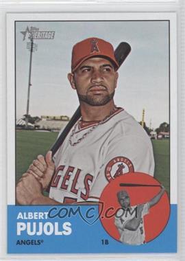 2012 Topps Heritage - [Base] #290.1 - Albert Pujols (Base)