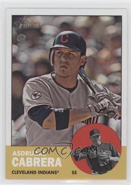 2012 Topps Heritage - [Base] #435 - Asdrubal Cabrera