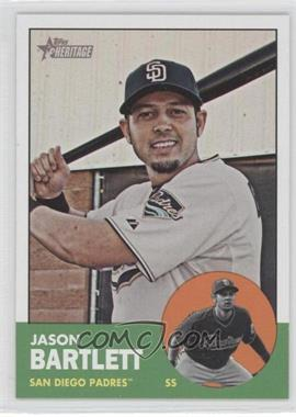 2012 Topps Heritage - [Base] #442 - Jason Bartlett
