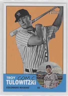 2012 Topps Heritage - [Base] #453.2 - Troy Tulowitzki (Image Swap)