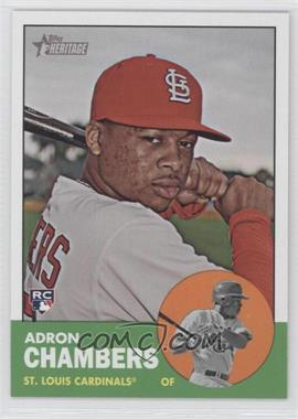 2012 Topps Heritage - [Base] #458 - Adron Chambers