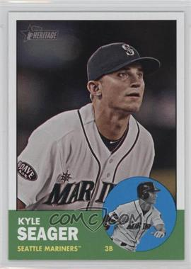 2012 Topps Heritage - [Base] #466 - Kyle Seager