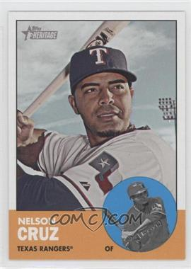 2012 Topps Heritage - [Base] #468.3 - Nelson Cruz (Color Swap)
