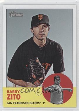 2012 Topps Heritage - [Base] #474 - Barry Zito