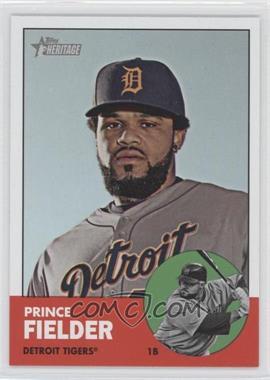 2012 Topps Heritage - [Base] #476.1 - Prince Fielder (Base)