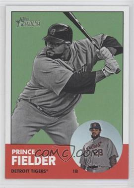 2012 Topps Heritage - [Base] #476.2 - Prince Fielder (Image Swap)