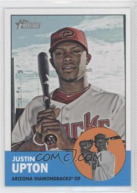2012 Topps Heritage - [Base] #481.1 - Justin Upton (Base)