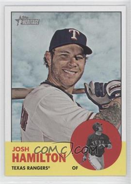 2012 Topps Heritage - [Base] #486.1 - Josh Hamilton (Base)