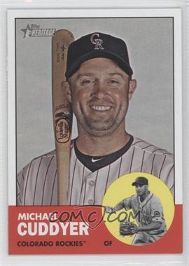 2012 Topps Heritage - [Base] #500 - Michael Cuddyer