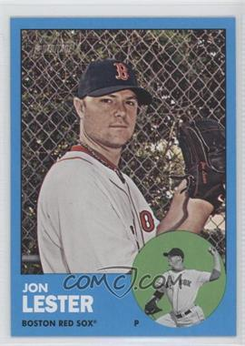2012 Topps Heritage - [Base] #76.2 - Jon Lester (Wal-Mart Blue)