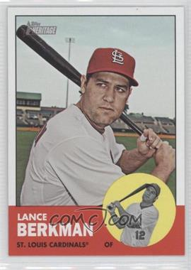 2012 Topps Heritage - [Base] #83.2 - Lance Berkman (Color Swap)