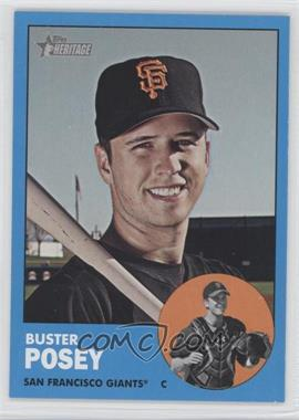 2012 Topps Heritage - [Base] #85.3 - Buster Posey (Wal-Mart Blue)