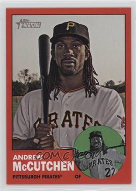 2012 Topps Heritage - [Base] #87.3 - Andrew McCutchen (Target Red)