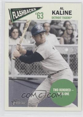 2012 Topps Heritage - Baseball Flashbacks #BF-AK - Al Kaline