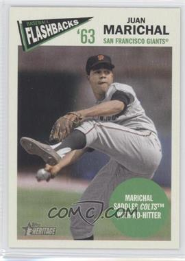 2012 Topps Heritage - Baseball Flashbacks #BF-JM - Juan Marichal