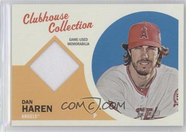 2012 Topps Heritage - Clubhouse Collection Relic #CCR-DH - Dan Haren
