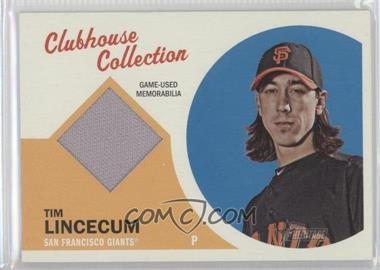2012 Topps Heritage - Clubhouse Collection Relic #CCR-TL - Tim Lincecum