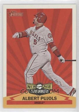 2012 Topps Heritage - New Age Performers #NAP AP - Albert Pujols