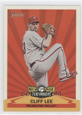 2012 Topps Heritage - New Age Performers #NAP CL - Cliff Lee